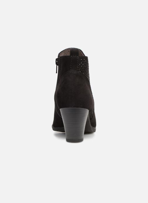 Bottines et boots Jana shoes Esther Noir vue droite