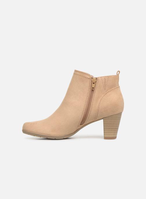 Bottines et boots Jana shoes Esther Beige vue face