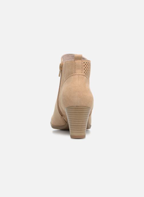 Bottines et boots Jana shoes Esther Beige vue droite