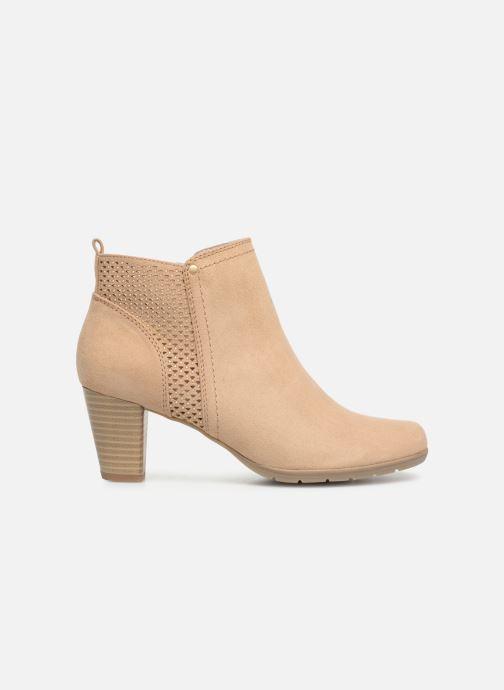 Bottines et boots Jana shoes Esther Beige vue derrière