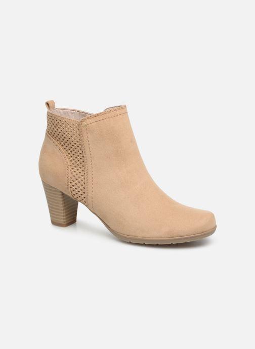Boots en enkellaarsjes Jana shoes Esther Beige detail