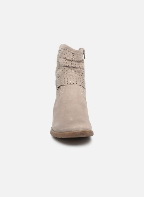 Botines  Jana shoes Suzanne Beige vista del modelo