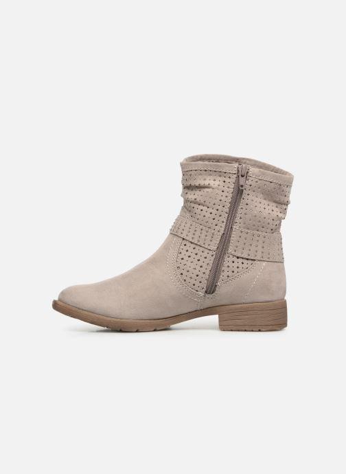 Bottines et boots Jana shoes Suzanne Beige vue face