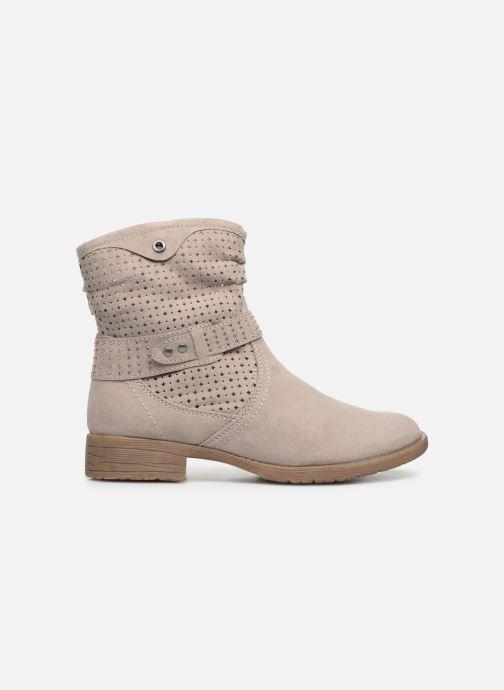 Bottines et boots Jana shoes Suzanne Beige vue derrière