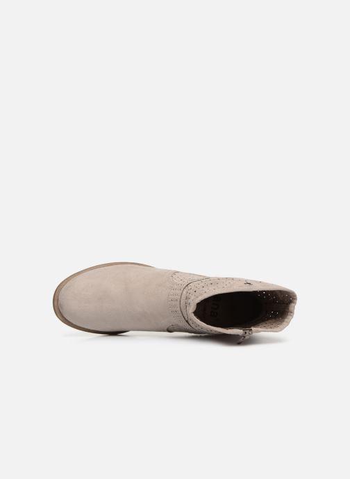 Botines  Jana shoes Suzanne Beige vista lateral izquierda