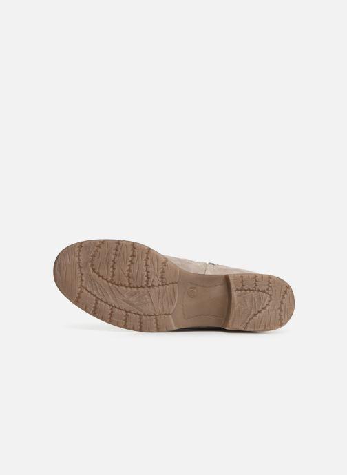 Bottines et boots Jana shoes Suzanne Beige vue haut
