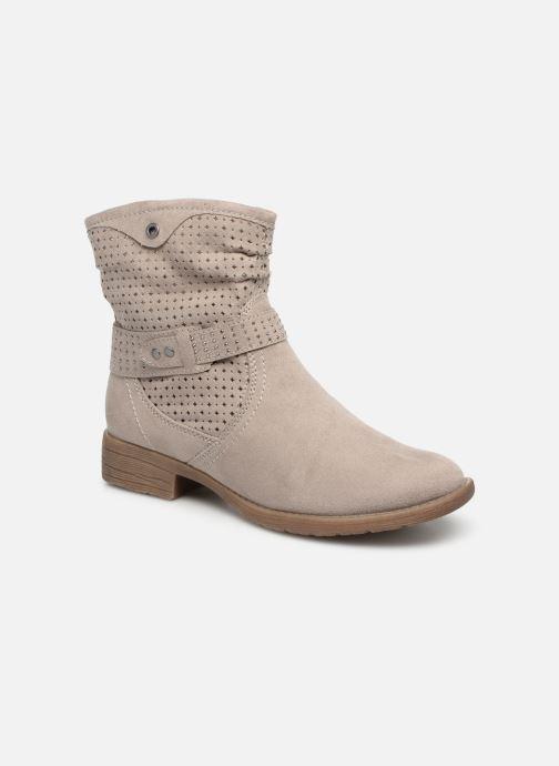 Botines  Jana shoes Suzanne Beige vista de detalle / par