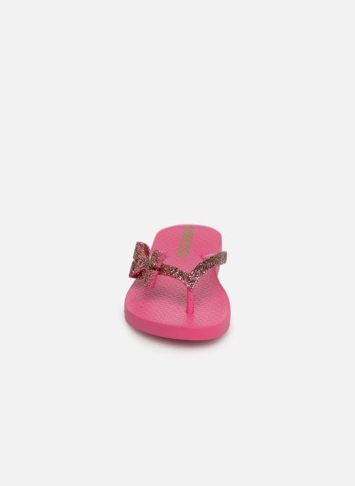 Tongs Ipanema Lolita IV Kids Rose vue portées chaussures