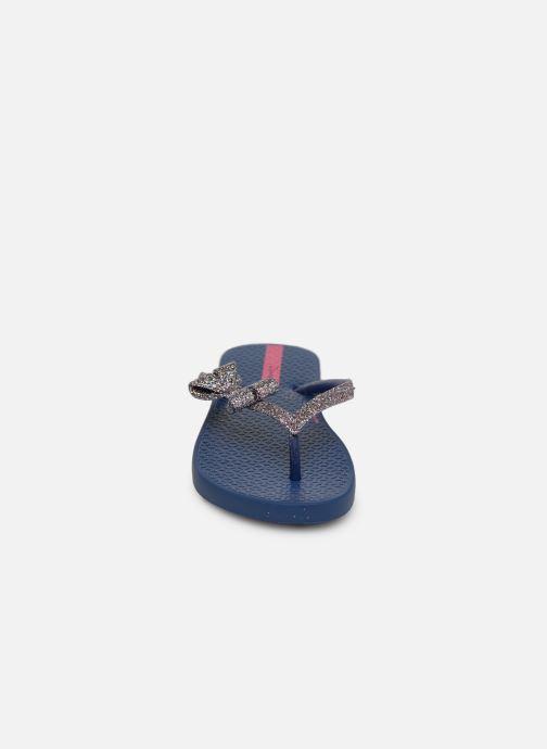 Infradito Ipanema Lolita IV Kids Azzurro modello indossato