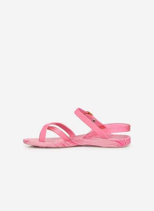 Sandalias Ipanema Fashion Sandal VI Kids Rosa vista de frente