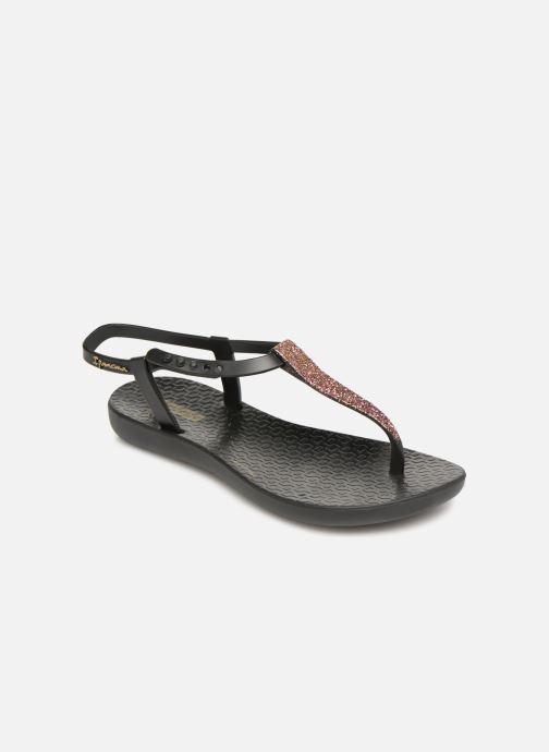 Tongs Ipanema Charm Sandal Kids Noir vue détail/paire