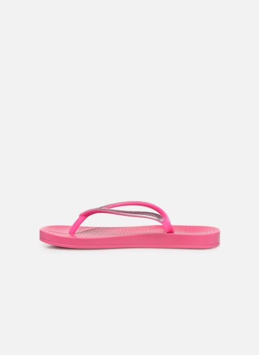 Chanclas Ipanema Mesh Kids Rosa vista de frente
