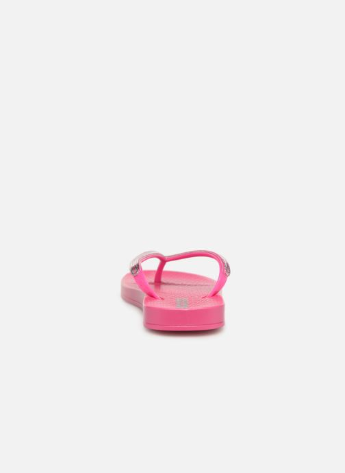 Chanclas Ipanema Mesh Kids Rosa vista lateral derecha
