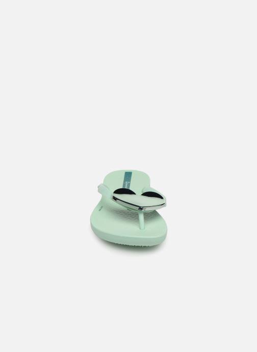 Tongs Ipanema Maxi Fashion Kids Vert vue portées chaussures