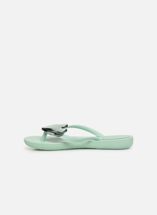 Tongs Ipanema Maxi Fashion Kids Vert vue face
