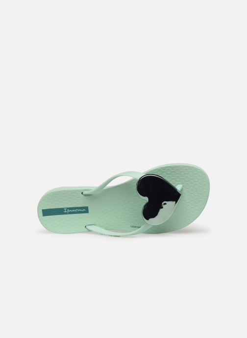 Tongs Ipanema Maxi Fashion Kids Vert vue gauche