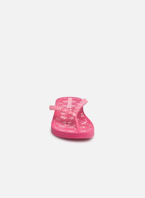 Zehensandalen Ipanema Anat Lovely II Kids rosa schuhe getragen
