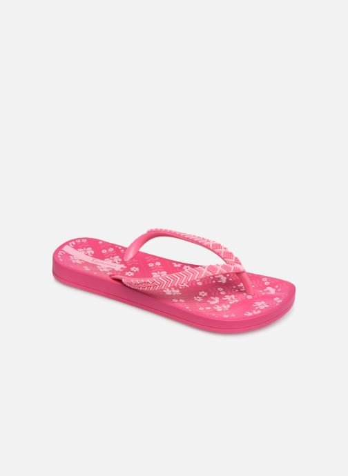 Tongs Ipanema Anat Lovely II Kids Rose vue détail/paire