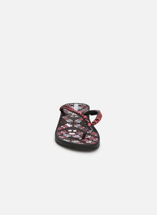 Tongs Ipanema Anat Lovely II Kids Noir vue portées chaussures