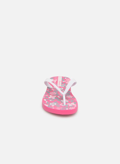 Tongs Ipanema Classic VII Kids Rose vue portées chaussures