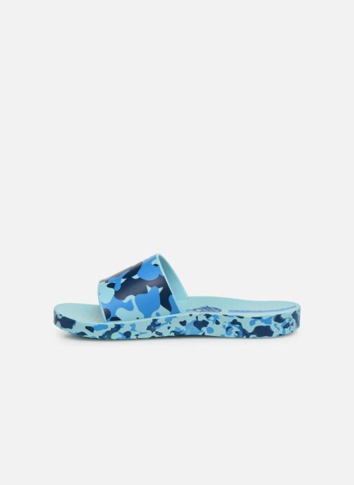 Sandalias Ipanema Urban Slide Kids Azul vista de frente
