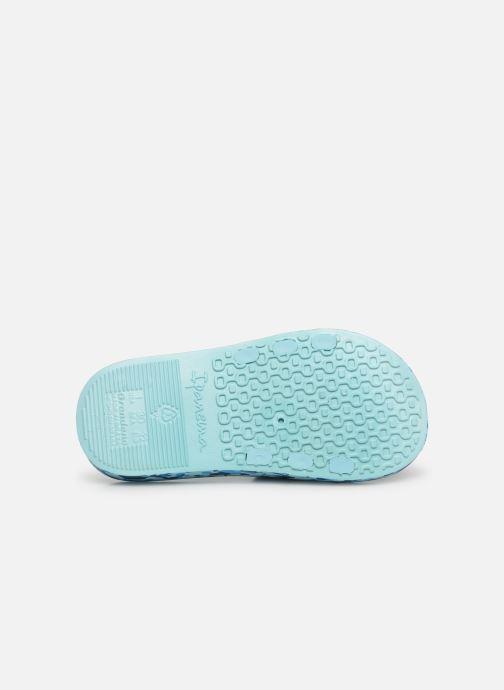 Sandali e scarpe aperte Ipanema Urban Slide Kids Azzurro immagine dall'alto
