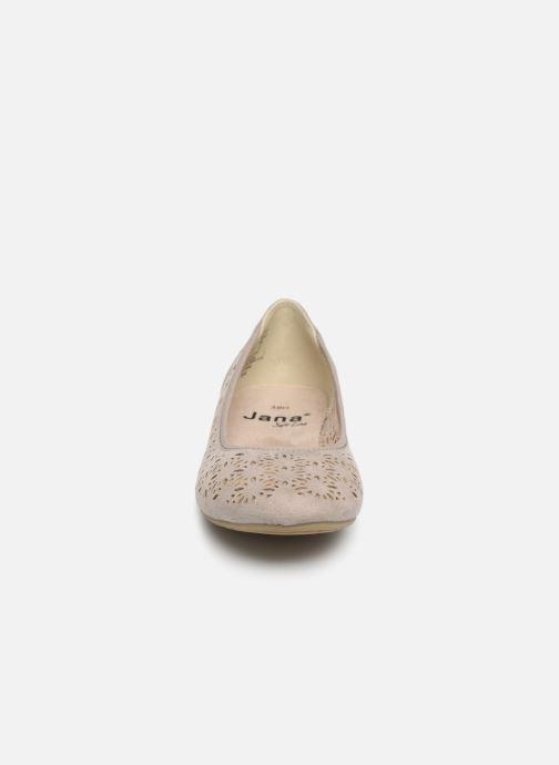 Ballerina Jana shoes Louise Beige bild av skorna på