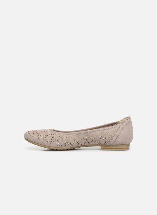Ballerines Jana shoes Louise Beige vue face