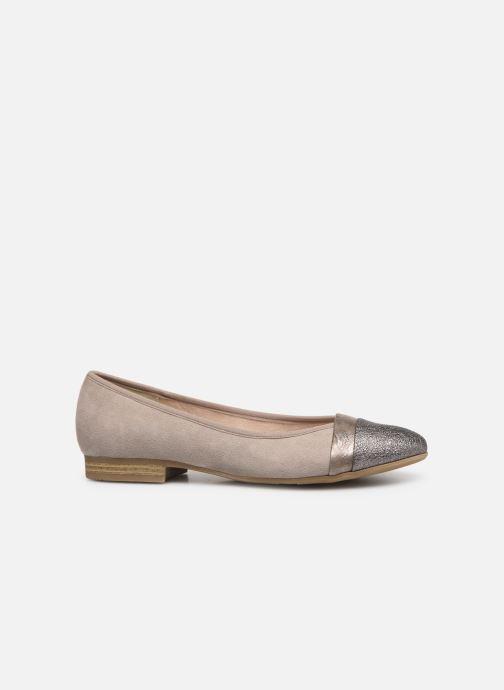 Ballerines Jana shoes Camille Beige vue derrière
