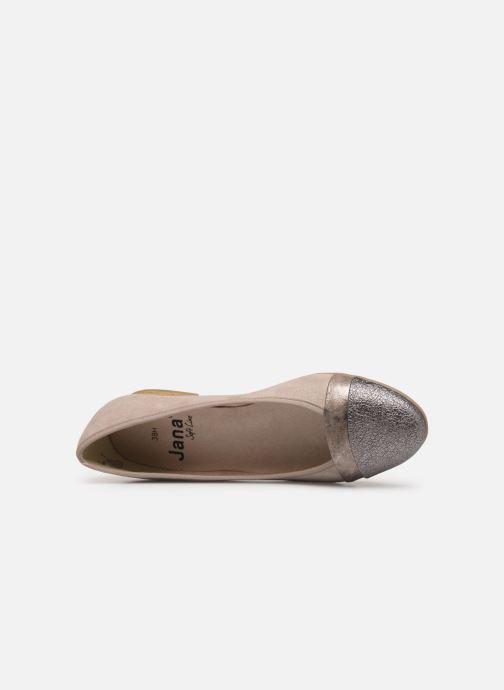 Ballerines Jana shoes Camille Beige vue gauche