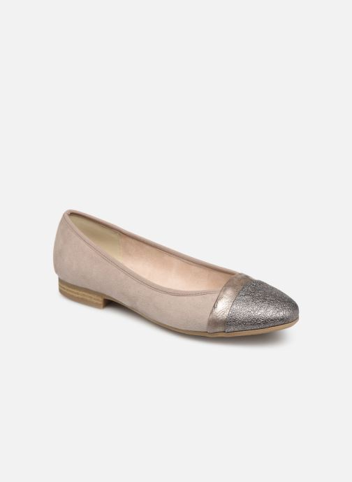Ballerines Jana shoes Camille Beige vue détail/paire