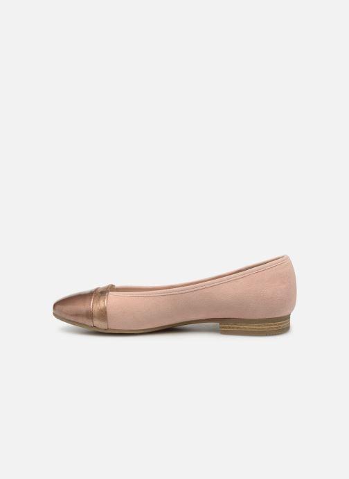 Ballerinas Jana shoes Camille rosa ansicht von vorne
