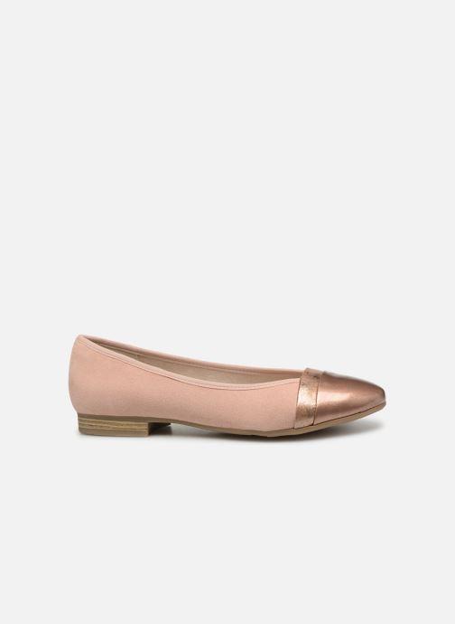 Ballerinas Jana shoes Camille rosa ansicht von hinten