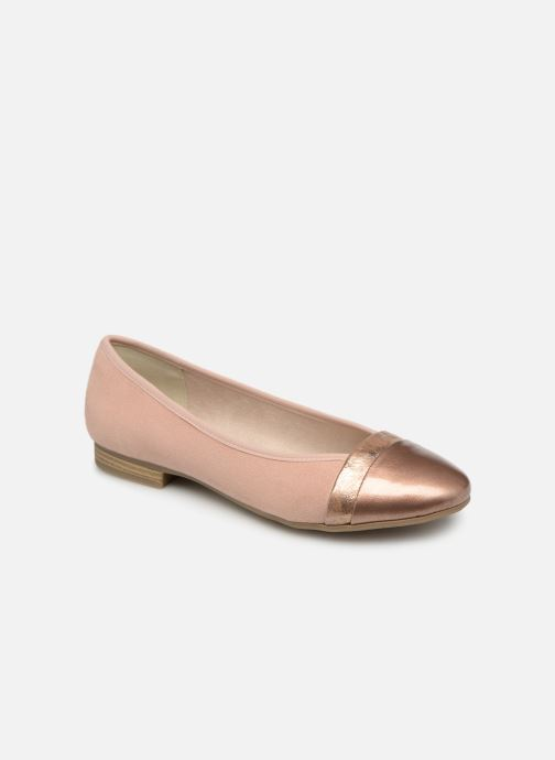 Ballerinas Jana shoes Camille rosa detaillierte ansicht/modell