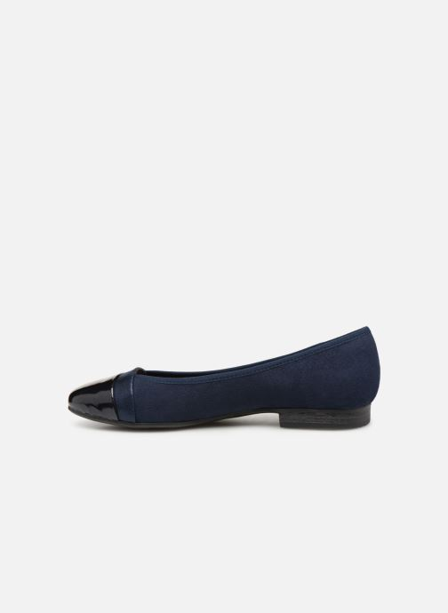 Ballerines Jana shoes Camille Bleu vue face