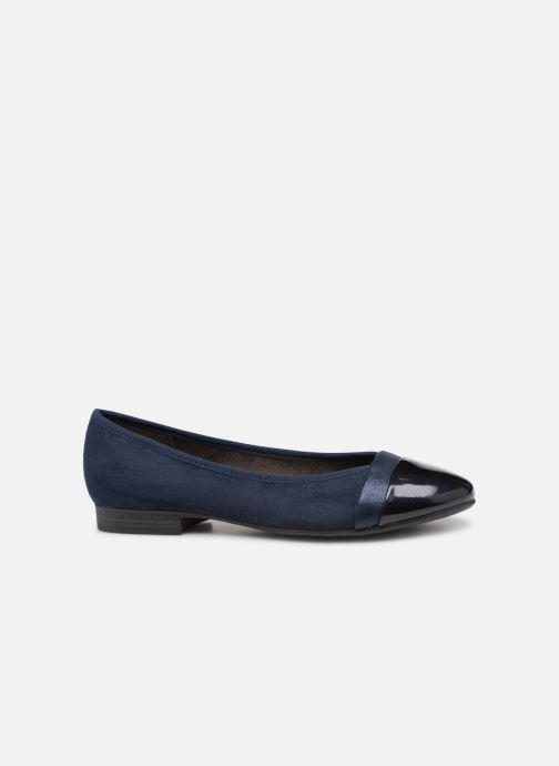 Ballerines Jana shoes Camille Bleu vue derrière