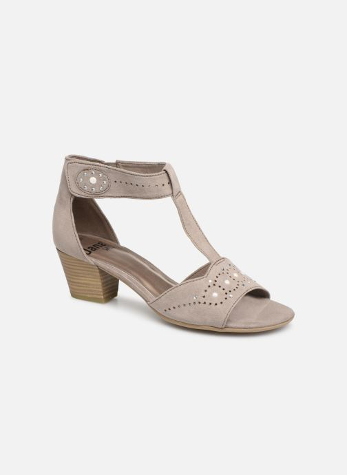 Sandals Jana shoes Salma Grey detailed view/ Pair view