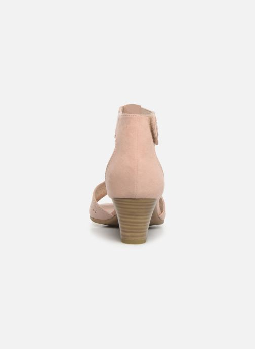 Sandals Jana shoes Salma Pink view from the right