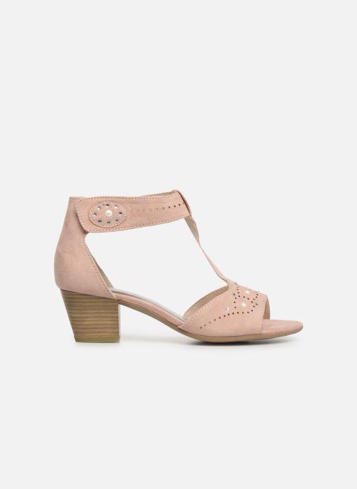 Sandals Jana shoes Salma Pink back view
