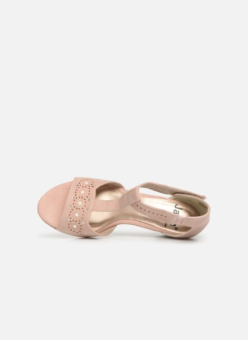 Sandals Jana shoes Salma Pink view from the left