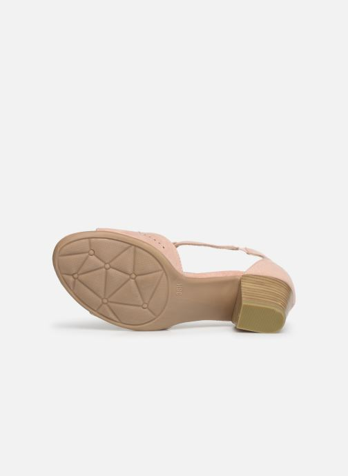 Sandals Jana shoes Salma Pink view from above