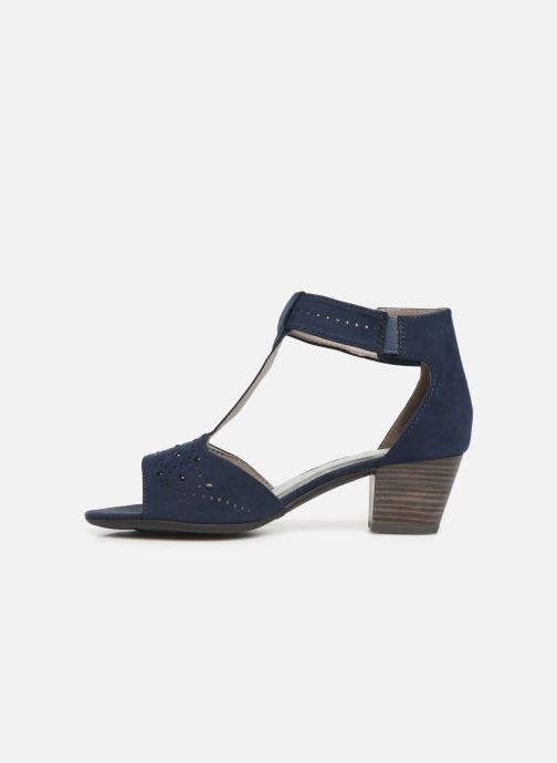 Sandales et nu-pieds Jana shoes Salma Bleu vue face