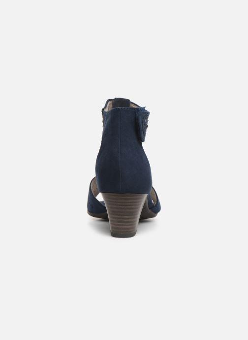 Sandales et nu-pieds Jana shoes Salma Bleu vue droite