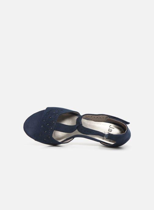 Sandales et nu-pieds Jana shoes Salma Bleu vue gauche