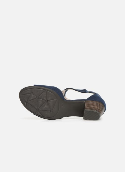 Sandales et nu-pieds Jana shoes Salma Bleu vue haut