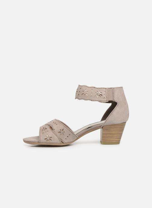 Sandaler Jana shoes Naomi Grå bild från framsidan