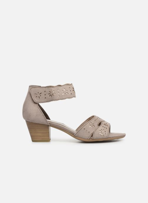 Sandaler Jana shoes Naomi Grå bild från baksidan