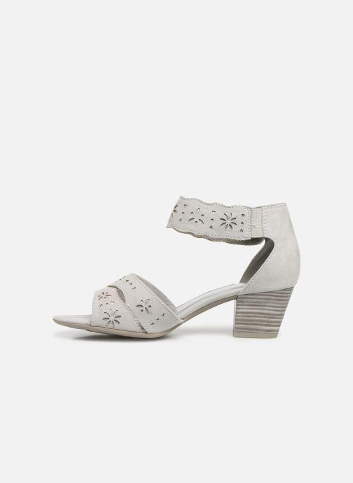 Sandales et nu-pieds Jana shoes Naomi Gris vue face