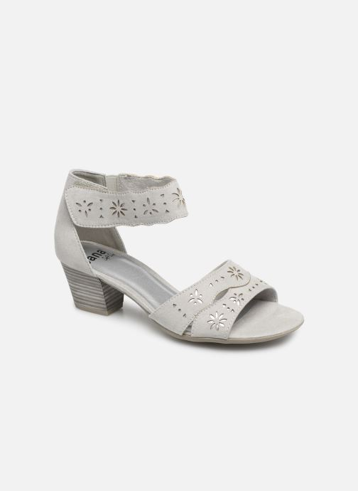 Sandals Jana shoes Naomi Grey detailed view/ Pair view