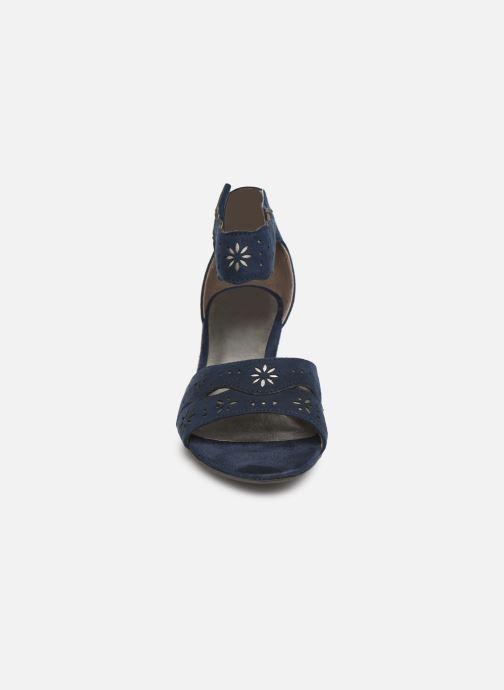 Sandales et nu-pieds Jana shoes Naomi Bleu vue portées chaussures
